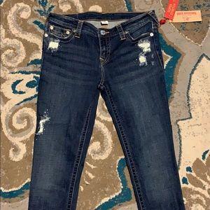 True religion Stella skinny super stretch jeans